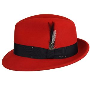 TINO TRILBY LITEFELT BAILEY RED